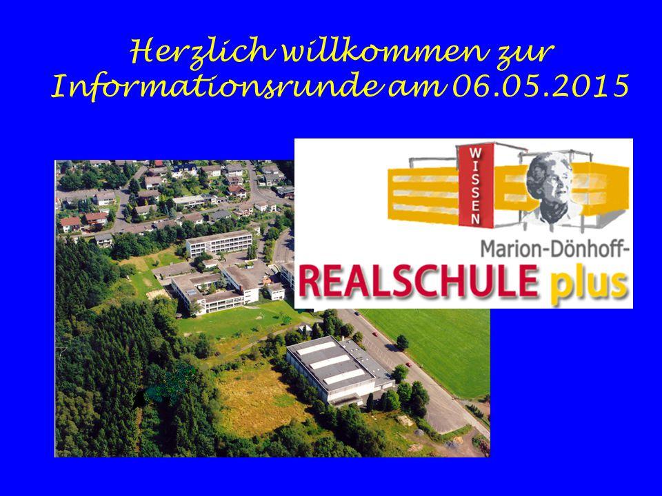 Herzlich willkommen zur Informationsrunde am 06.05.2015
