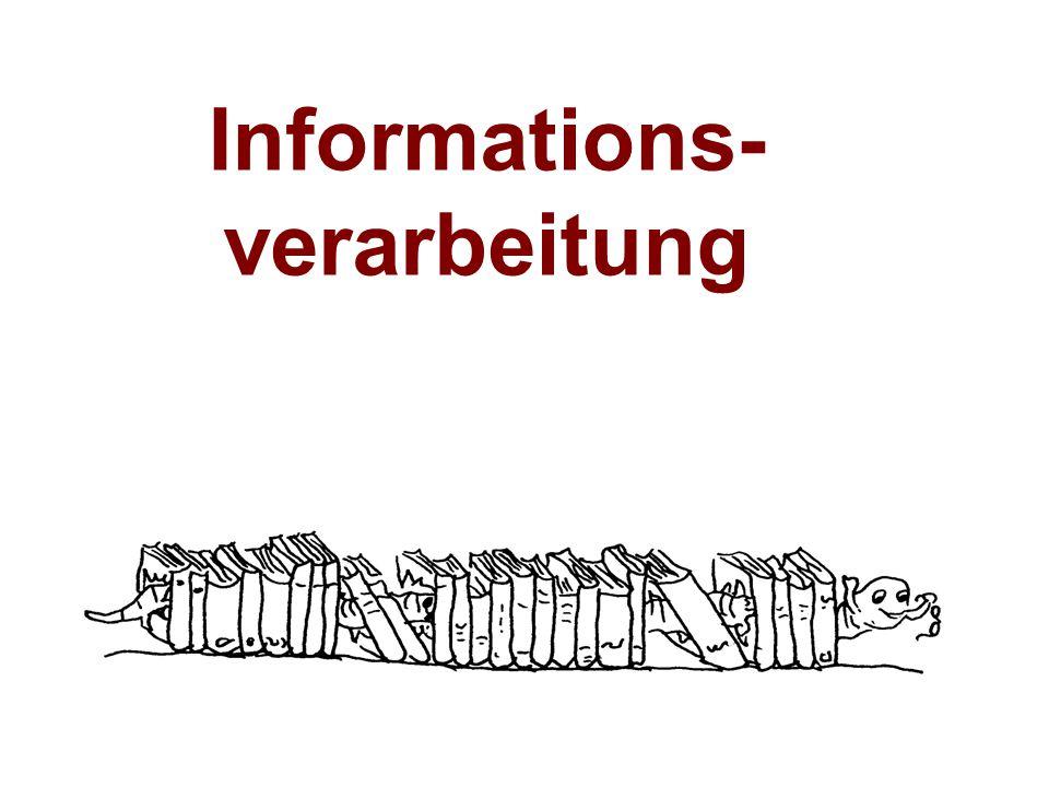 Informations- verarbeitung