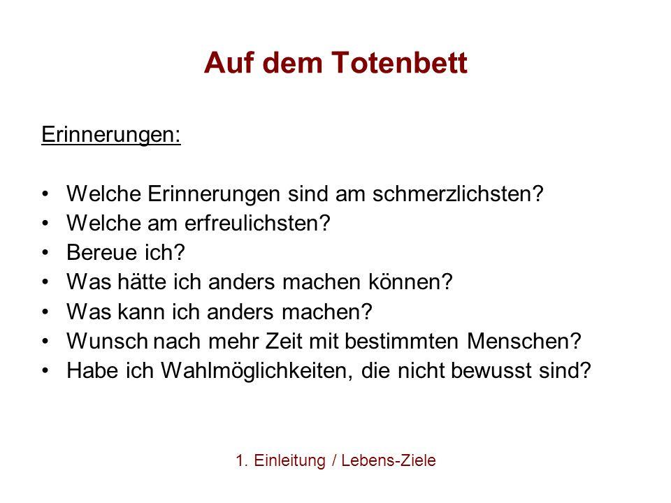 Literatur Beyer, G.(1992). Zeitmanagement.