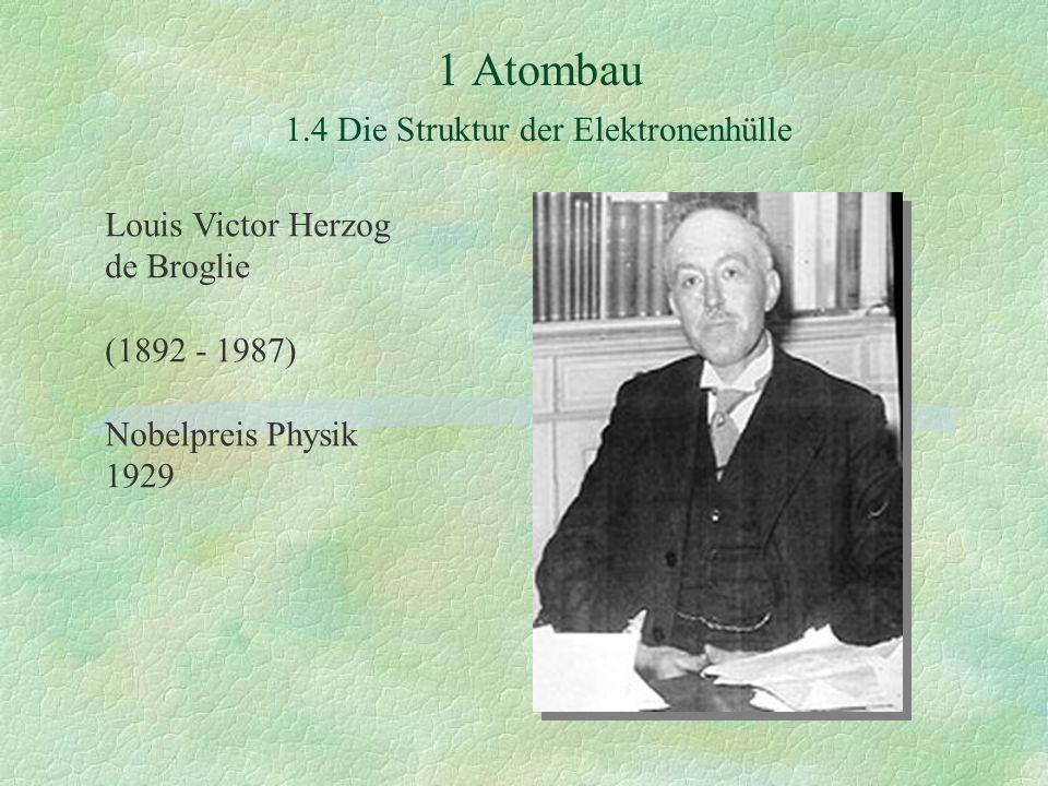 Louis Victor Herzog de Broglie (1892 - 1987) Nobelpreis Physik 1929