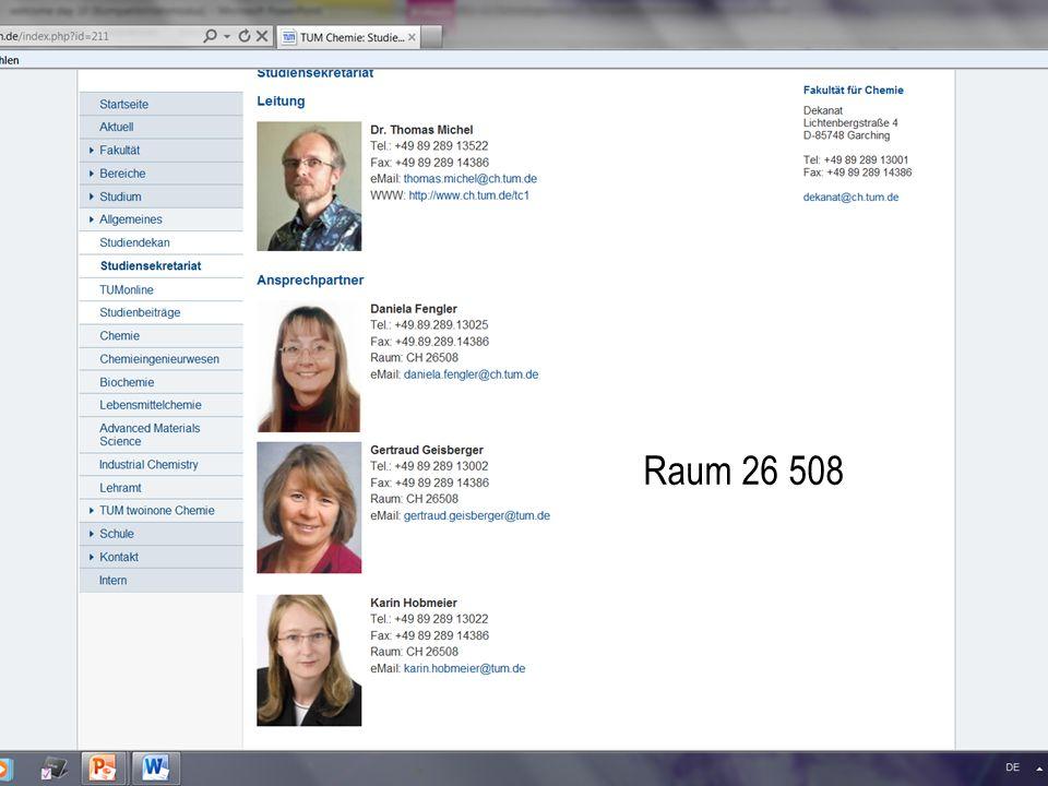 Technische Universität München Dr. Martin Haslbeck Raum 26 508