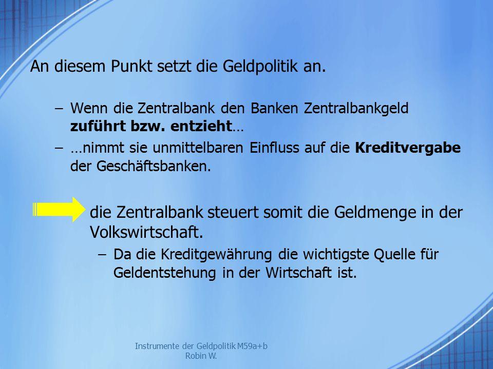 """""""Wunderbare Geldvermehrung – multiple Giraldgeldschöpfung."""