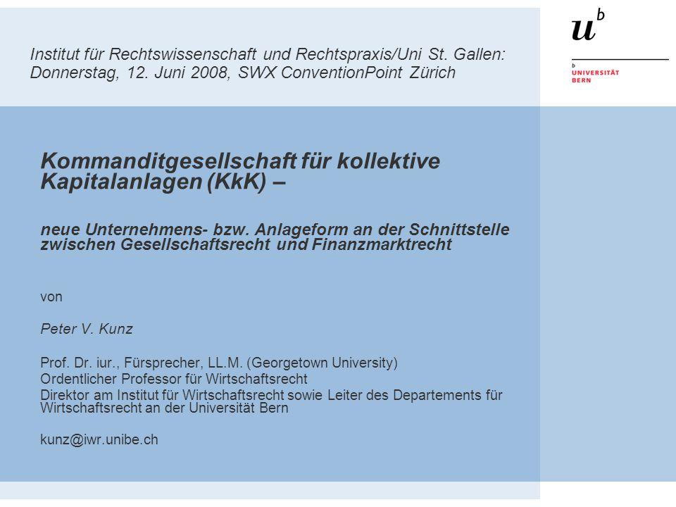 Institut für Rechtswissenschaft und Rechtspraxis/Uni St.