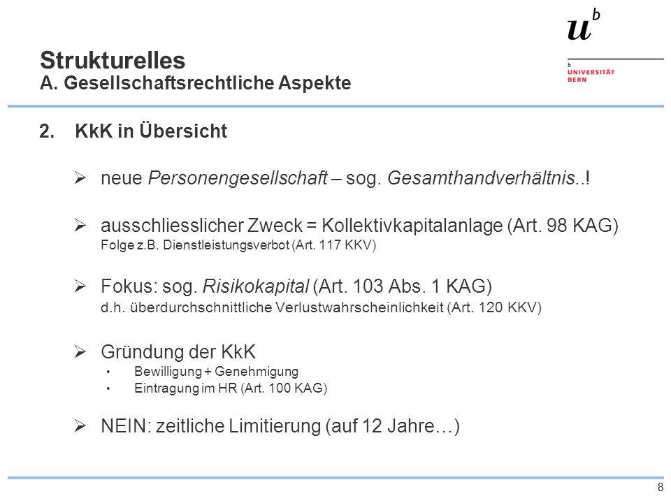 88 Strukturelles A. Gesellschaftsrechtliche Aspekte 2.