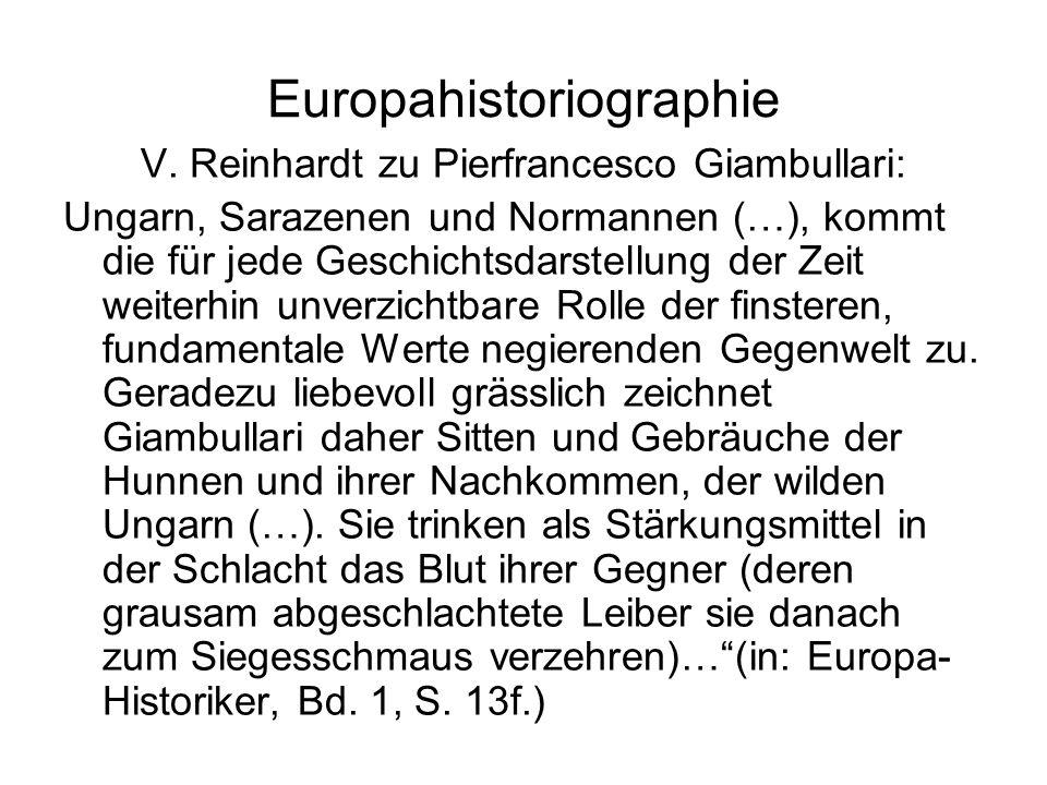 Europahistoriographie V.