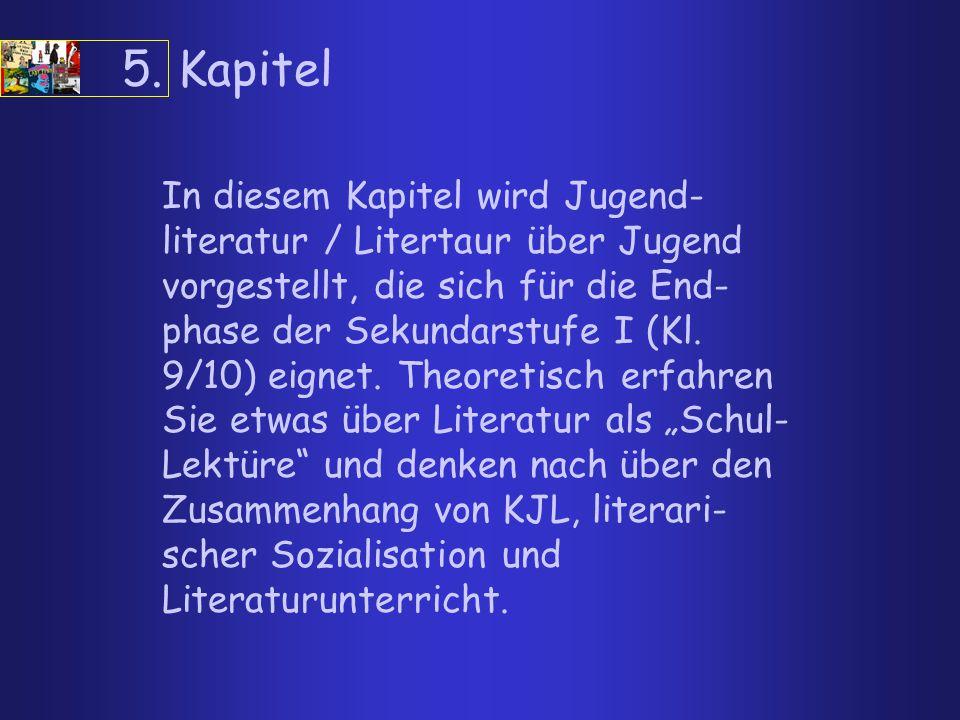5.1 Klasse 9 / 10 Hermann Hesse: Unterm Rad (B,H) William Golding: Herr der Fliegen (B,H,F) Dagmar Chidolue: Lady Punk (B)