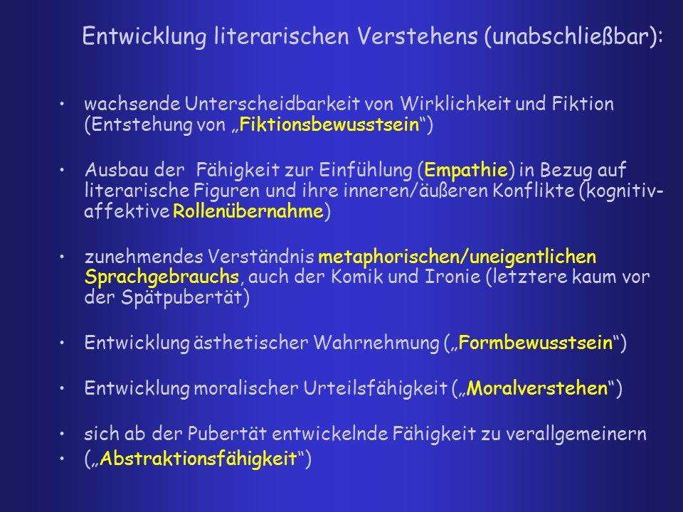 Konsequenzen für den Lese- und Literaturunterricht 1.