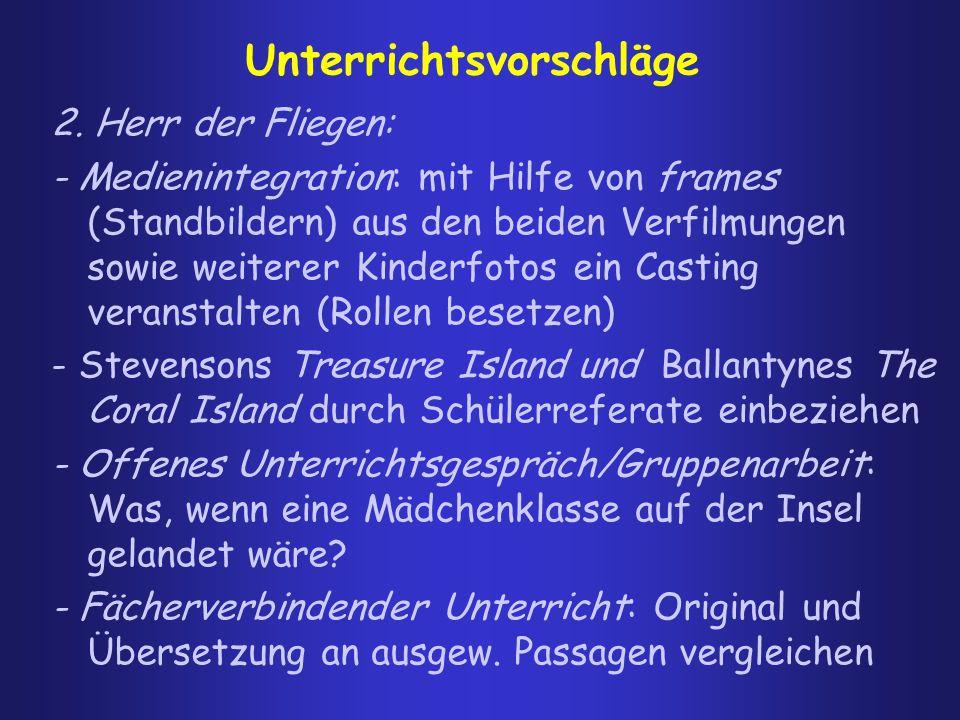 Zwei Unterrichtsvorschläge zum Vergleich a) Klaus Dautel (2001) http://www.zum.de/Faecher/D/BW/gym/hesse/u_frame.htm 1.Tafelanschrieb: Das Wo-Wann-Wer-usw (Die Exposition)  Wo spielt die Handlung?...