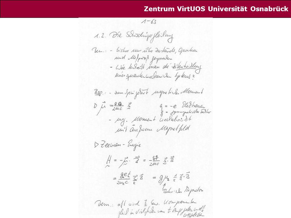 63 Zentrum VirtUOS Universität Osnabrück