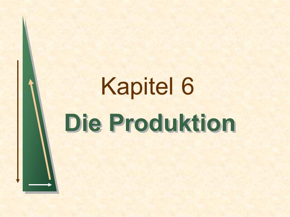 Kapitel 6 Die Produktion