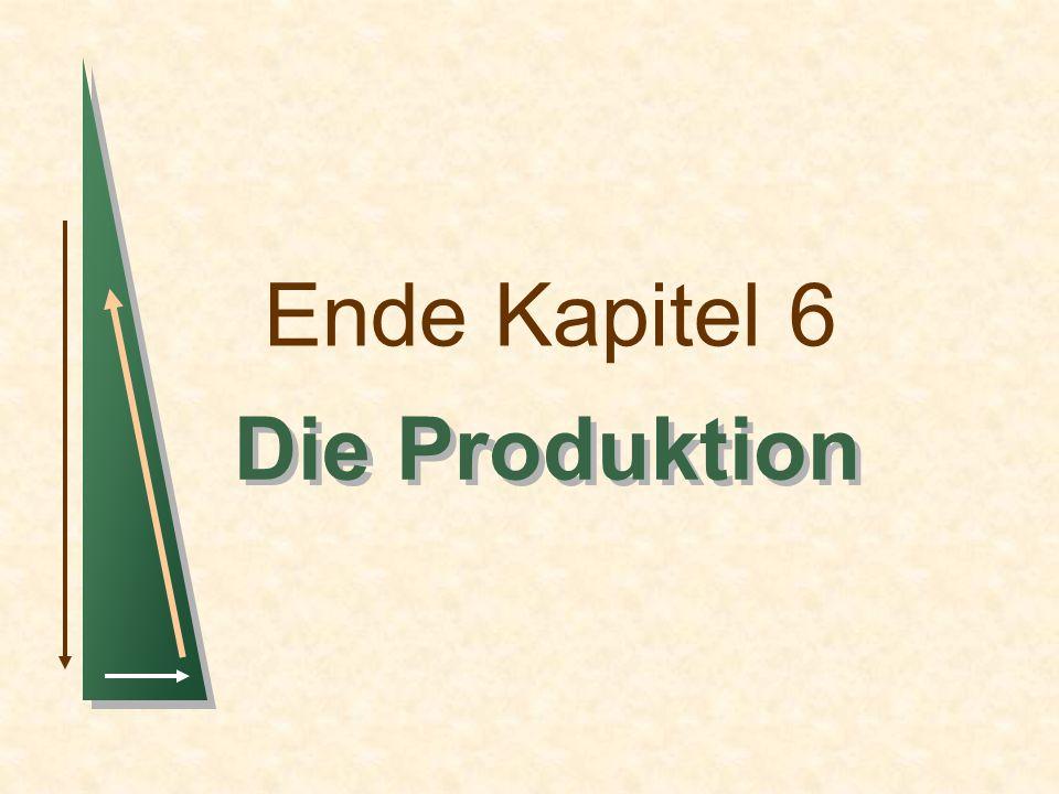 Ende Kapitel 6 Die Produktion