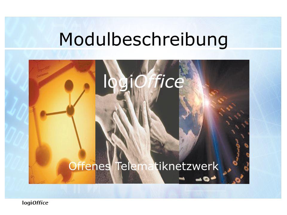 logiOffice Modulbeschreibung logiOffice Offenes Telematiknetzwerk