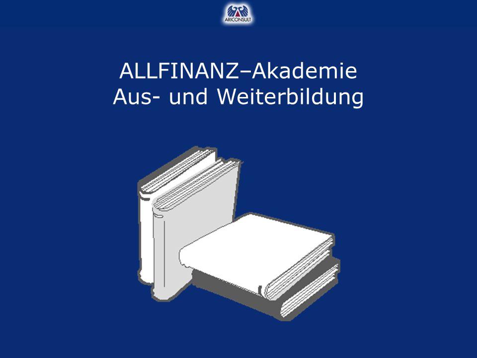ALLFINANZ–Akademie Aus- und Weiterbildung