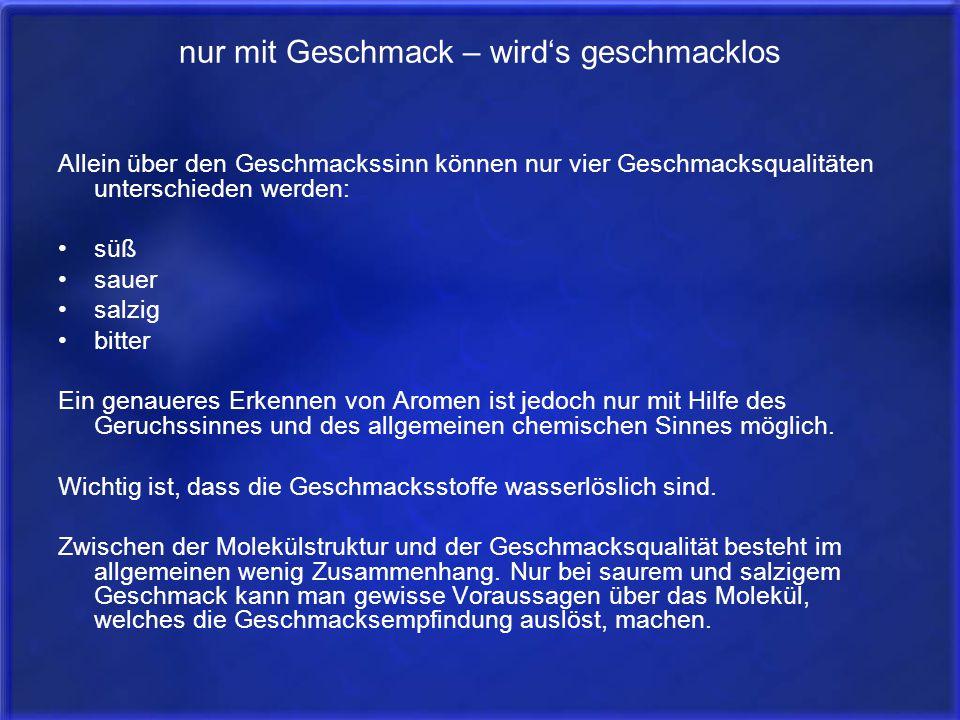 take home message Die sog. Zungenkarten sind falsch.