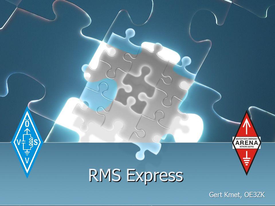 RMS Express Gert Kmet, OE3ZK