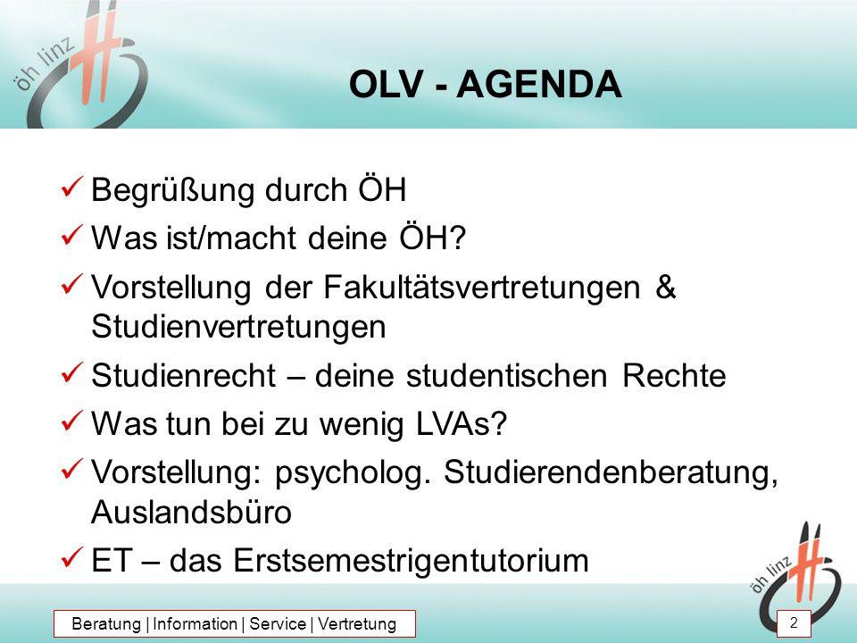 Psychologische Studierendenberatung (2) Kontakt: 4040 Linz, Altenbergerstr.