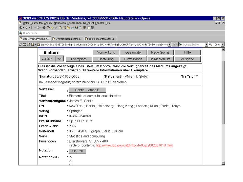 Keine Abkürzungen von Internetadressen: nicht www.galileodesign.de/ oder gar galileodesign sondern vollständig http://www.galileodesign.de/