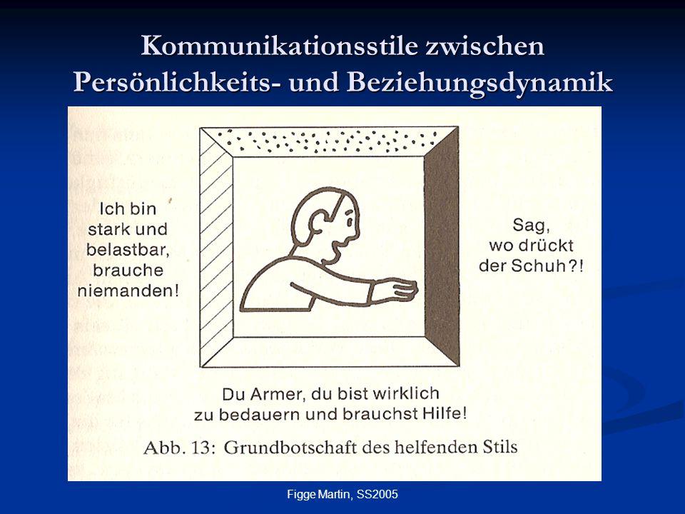 Figge Martin, SS2005 Kommunikationsstile zwischen Persönlichkeits- und Beziehungsdynamik