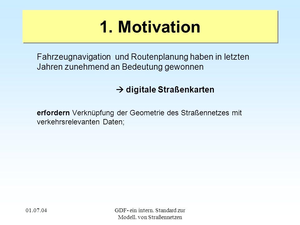 01.07.04GDF- ein intern. Standard zur Modell. von Straßennetzen 1.