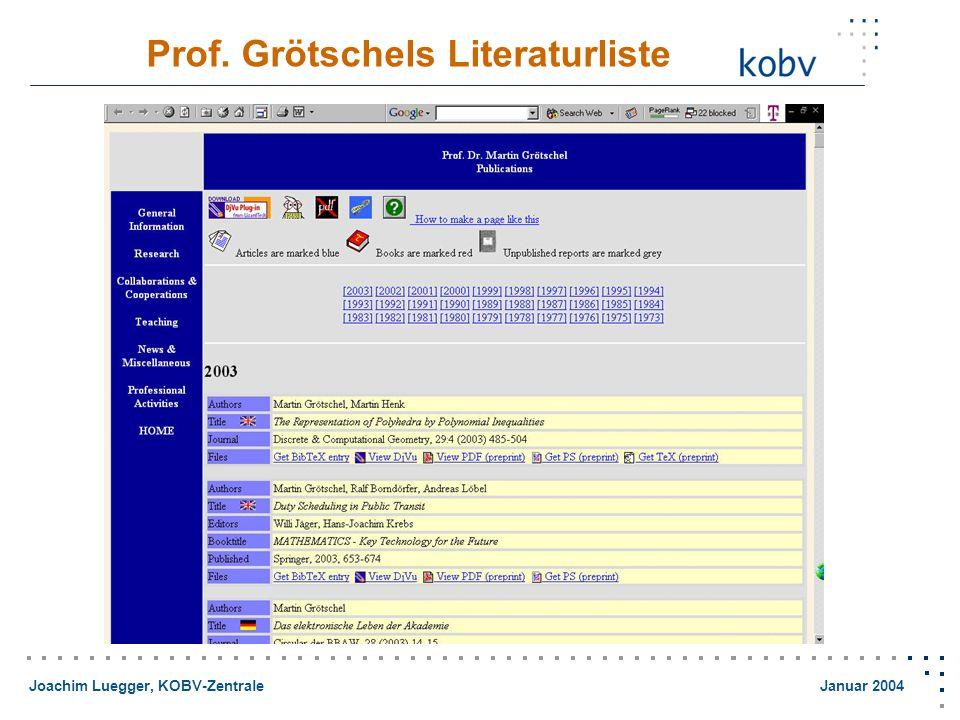 Joachim Luegger, KOBV-Zentrale Januar 2004 Google: Historical Maps