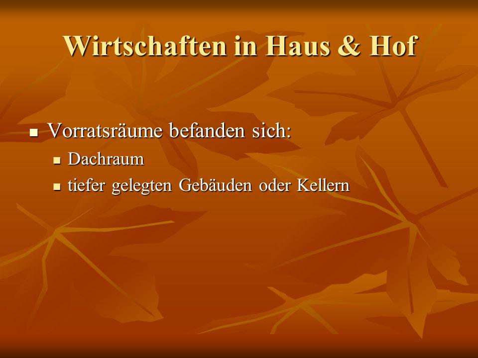 Die Situation in Südwestdeutschland häufigste Getreidearten: Roggen, Gerste, Hafer, Dinkel häufigste Getreidearten: Roggen, Gerste, Hafer, Dinkel seltene Getreidearten: Saatweizen, Einkorn, Emmer seltene Getreidearten: Saatweizen, Einkorn, Emmer pflanzliche Fette / Öle: Schlafmohn, Kulturlein, Rübsen pflanzliche Fette / Öle: Schlafmohn, Kulturlein, Rübsen