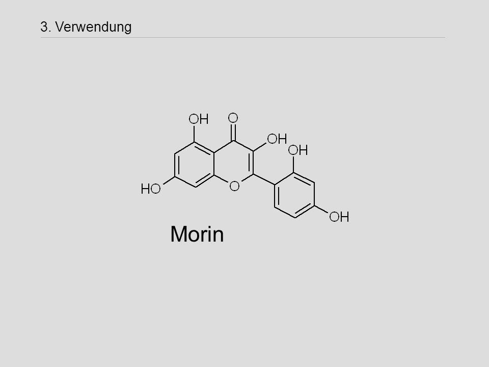 Morin 3. Verwendung