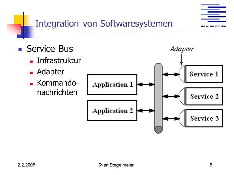 2.2.2006Sven Stegelmeier7 MULE Messaging in MULE
