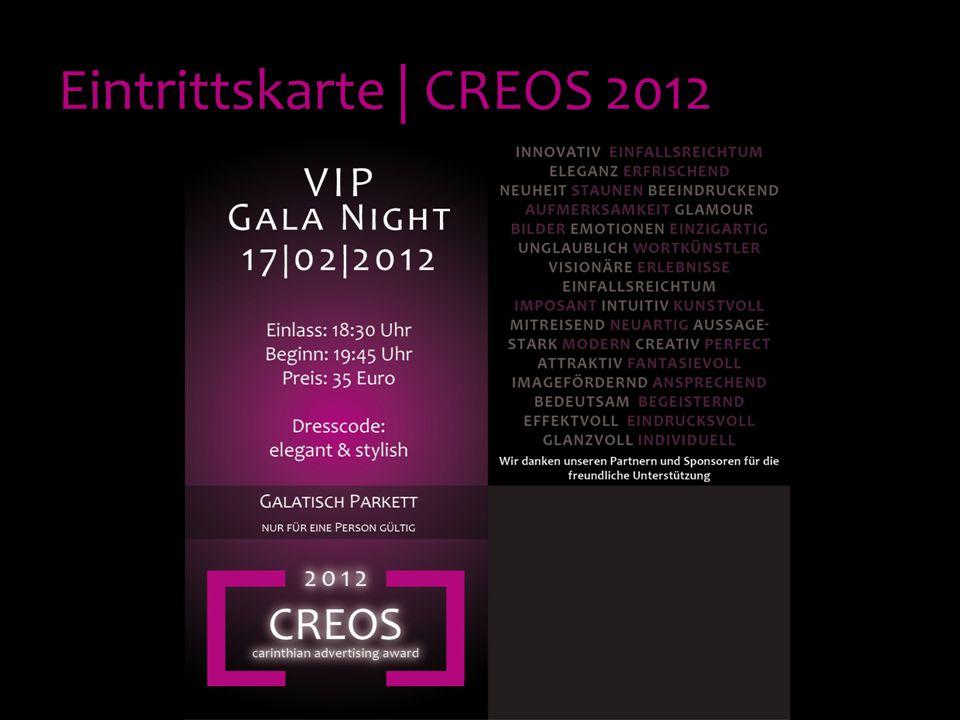 Eintrittskarte | CREOS 2012