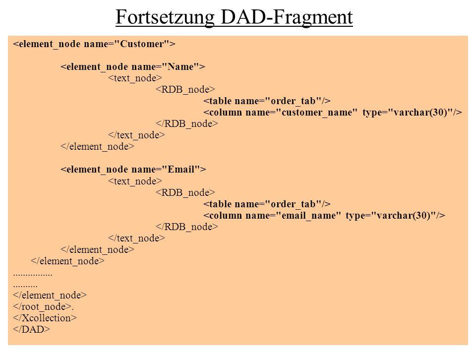 Fortsetzung DAD-Fragment...........................