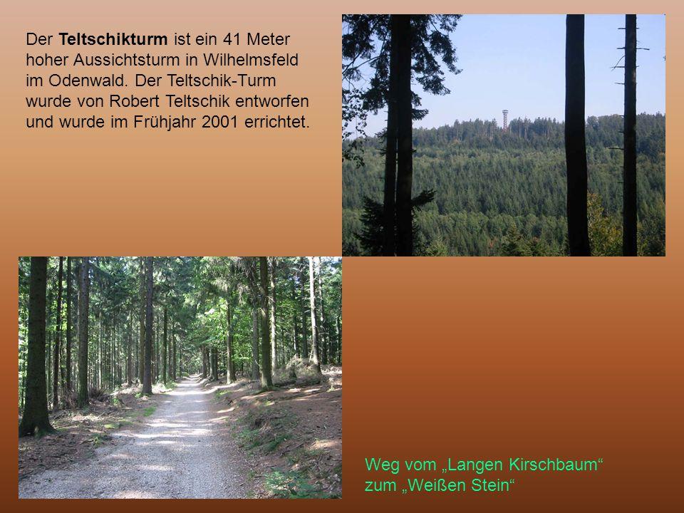 Der Teltschikturm ist ein 41 Meter hoher Aussichtsturm in Wilhelmsfeld im Odenwald. Der Teltschik-Turm wurde von Robert Teltschik entworfen und wurde