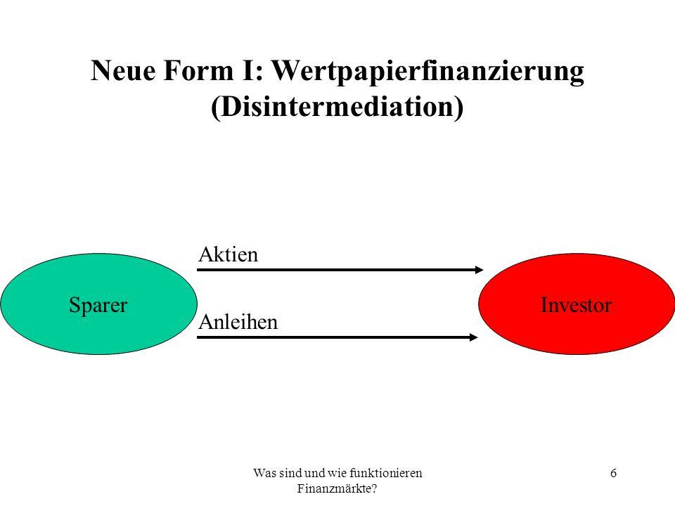 Reformansätze 1: Stabilisierung77 Kritik an Basel 2 und Alternative Kritik 1.