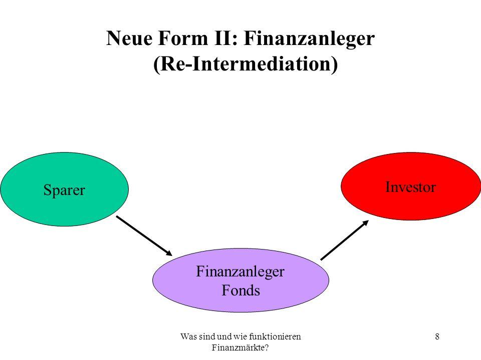 69 Fazit: Finanzmärkte sind das Hauptinstrument zur Durchsetzung der neoliberalen Globalisierung, die ihrerseits ein umfassendes Projekt der Gegenreform ist.