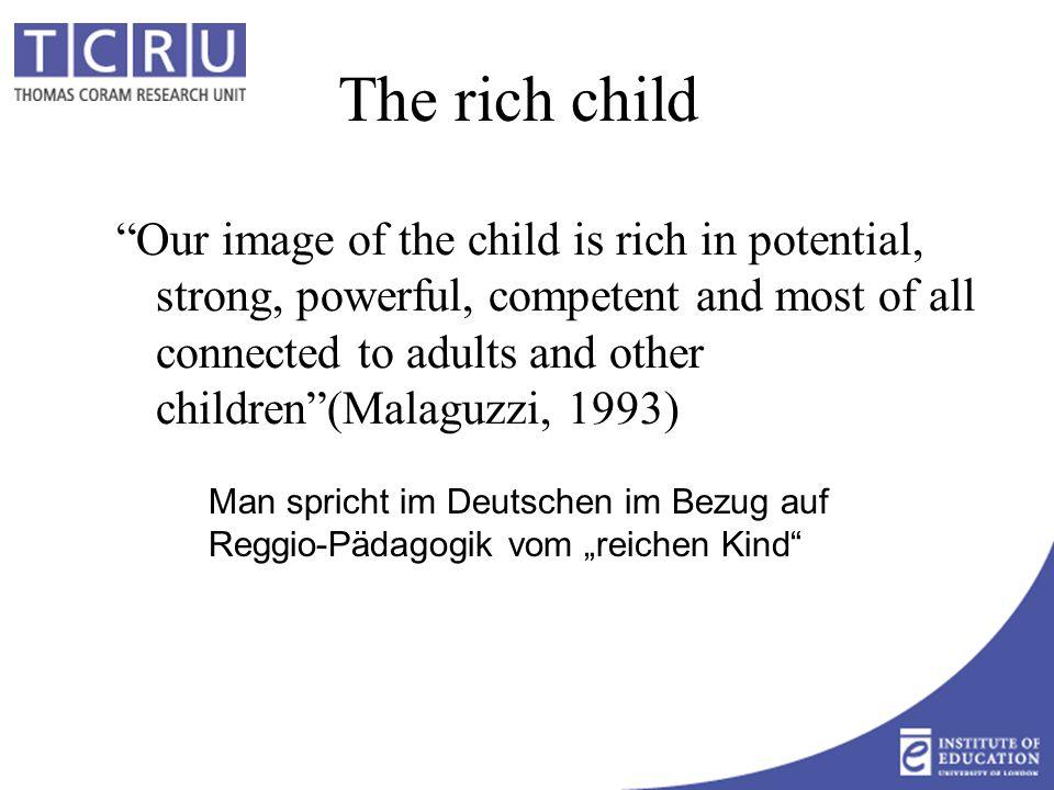 Von der Kinderbetreuung zu… integrierten Angeboten für das Kind als Ganzes für die ganze Gemeinschaft für viele Zwecke (Betreuungsbedürfnisse von arbeitenden Eltern und Gleichstellung, Lernen, Familienunterstützung, Vermittlung von Kultur und Werten, sozialer Zusammenhalt und Solidarität...) multifunktionale Angebote für alle Kinder