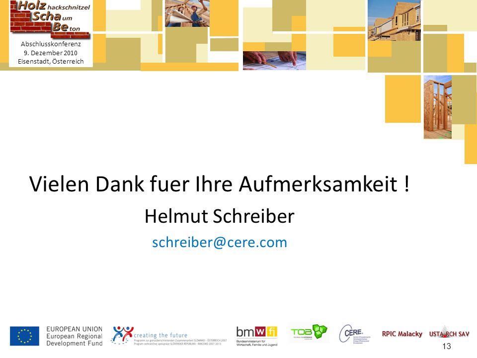 Titelmasterformat durch Klicken bearbeiten Textmasterformate durch Klicken bearbeiten – Zweite Ebene Dritte Ebene – Vierte Ebene » Fünfte Ebene 13 HolzSchaBe Holzhackschnitzel- Schaum-Betonmischung Abschlusskonferenz 9.