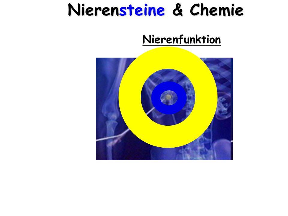 Nierensteine & Chemie Nierenfunktion  Blutwäsche  Dialyse  Osmose/Diffusion Niere: semipermeable (halbdurchlässige) Membran HarnBlut s.