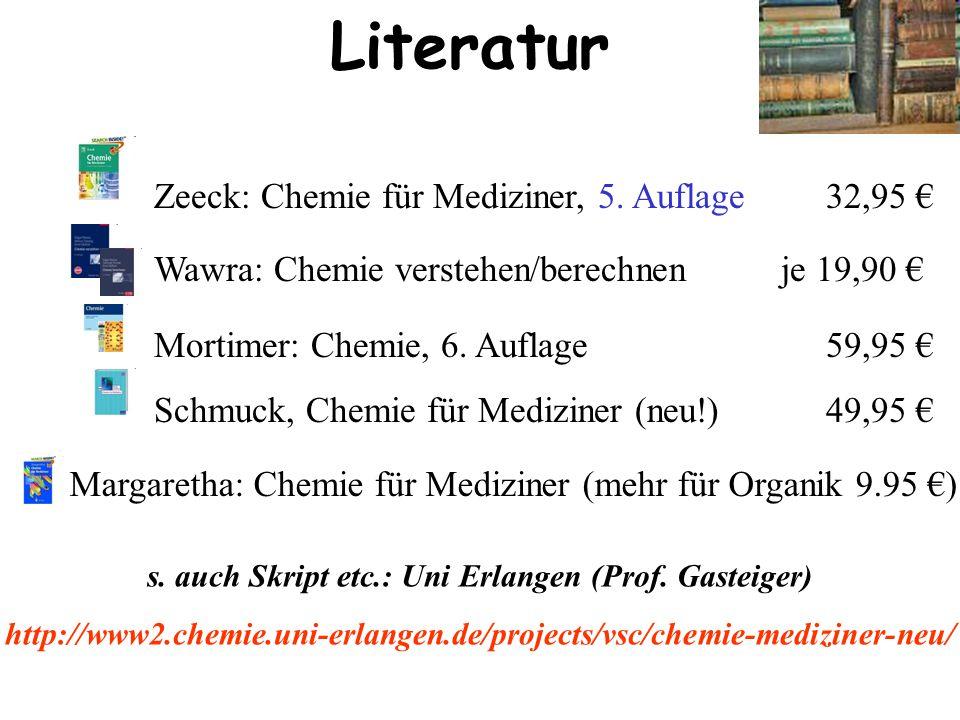 Zeeck: Chemie für Mediziner, 5.