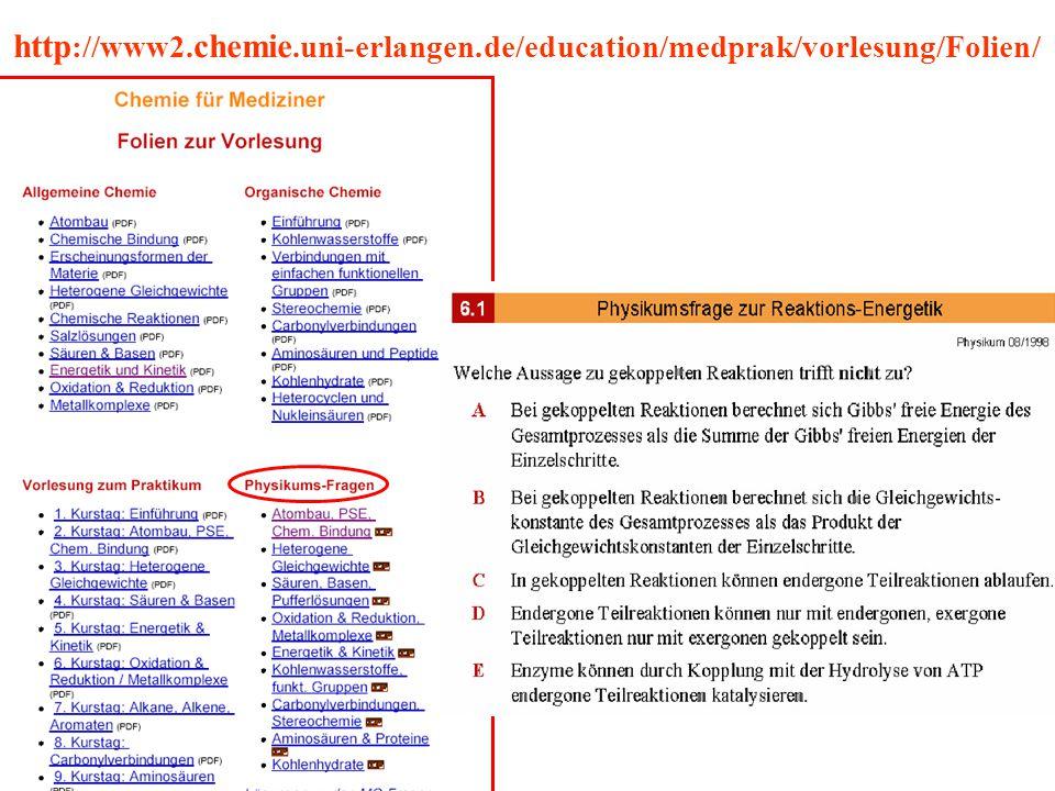 http ://www2. chemie.uni-erlangen.de/education/medprak/vorlesung/Folien/