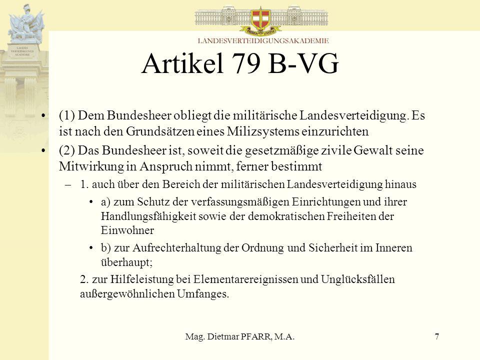 Mag. Dietmar PFARR, M.A.6 Geschichtliche Entwicklung 17.