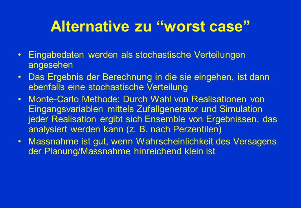 """Alternative zu """"worst case"""" Eingabedaten werden als stochastische Verteilungen angesehen Das Ergebnis der Berechnung in die sie eingehen, ist dann ebe"""