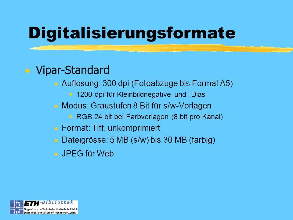 Zweck Bilddatenbank  Inventar der Sammlung, Überblick  verbesserter Zugriff für BenutzerInnen  Recherche  Online-Zugriff  mehr Kunden  kommerzielle Nutzung