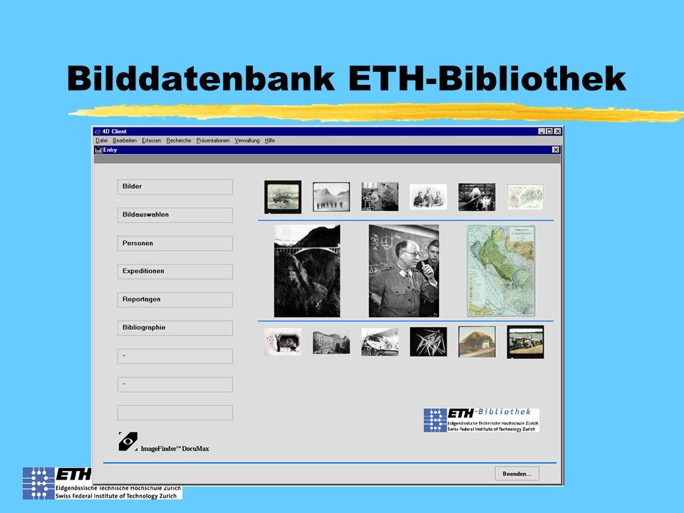 Bilddatenbank ETH-Bibliothek
