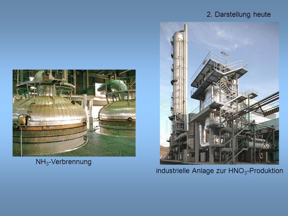 industrielle Anlage zur HNO 3 -Produktion NH 3 -Verbrennung