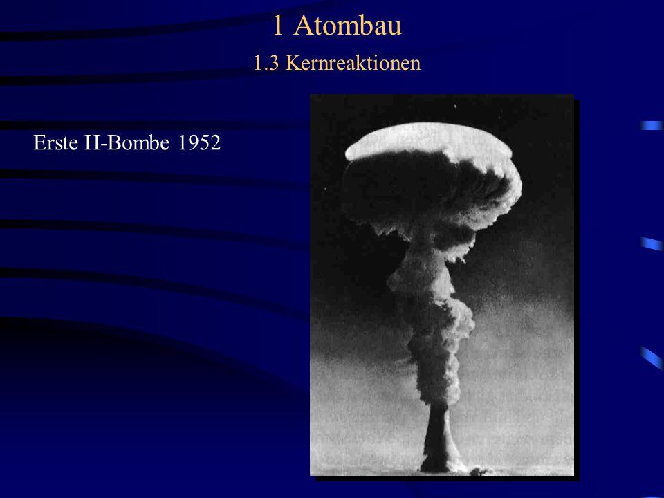 Erste H-Bombe 1952