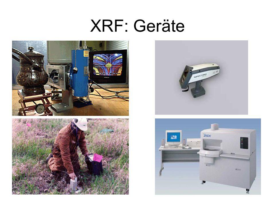 XRF: Geräte