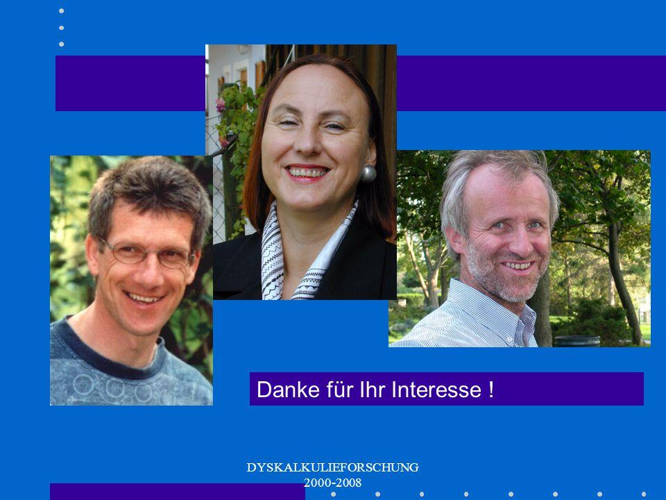 DYSKALKULIEFORSCHUNG 2000-2008 Kontakt Für Interessierte: hubert.schaupp@kphgraz.at Oder: www.kphgraz.at