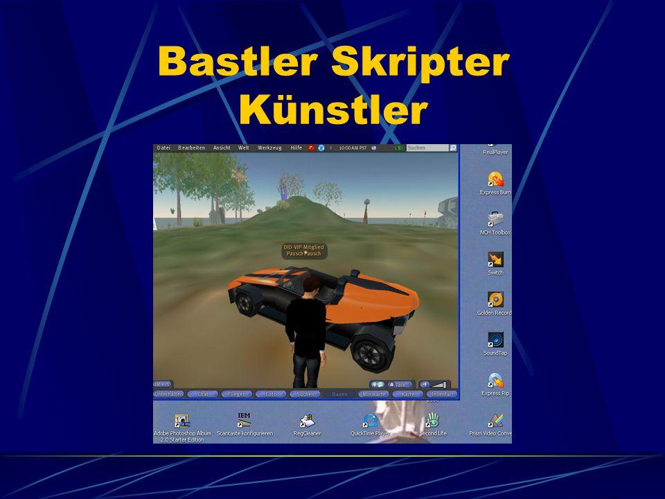 Bastler Skripter Künstler