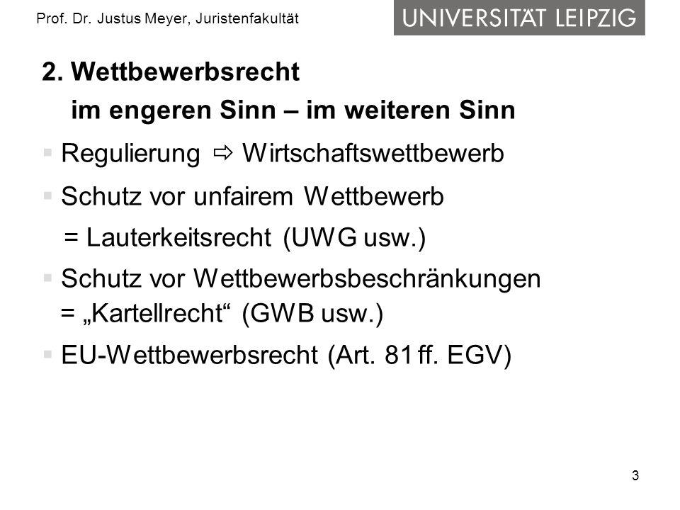 3 Prof. Dr. Justus Meyer, Juristenfakultät 2.