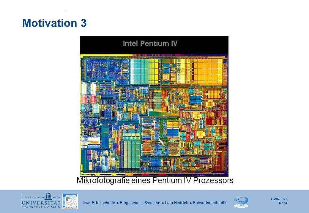 HWR · K2 Nr.:5 Uwe Brinkschulte  Eingebettete Systeme  Lars Hedrich  Entwurfsmethodik Gliederung 2.1 Rechnerarchitekturen 2.1.1 Die von Neumann-Architektur 2.1.2 Die Harvard-Architektur 2.1.3 Busse 2.2 Zahlendarstellung 2.3 HSA und ISA 2.3.2 Die Hardware-System-Architektur 2.3.3 Die Instruktions-Satz-Architektur 2.3.4 Assembler 2.3.5 Interrupts 2.3.6 RISC-/CISC-Architekturen 2.3.7 Pipelining 2.4 Superskalare Prozessoren 2.5 VLIW-Prozessoren 2.6 Speicherhierarchie