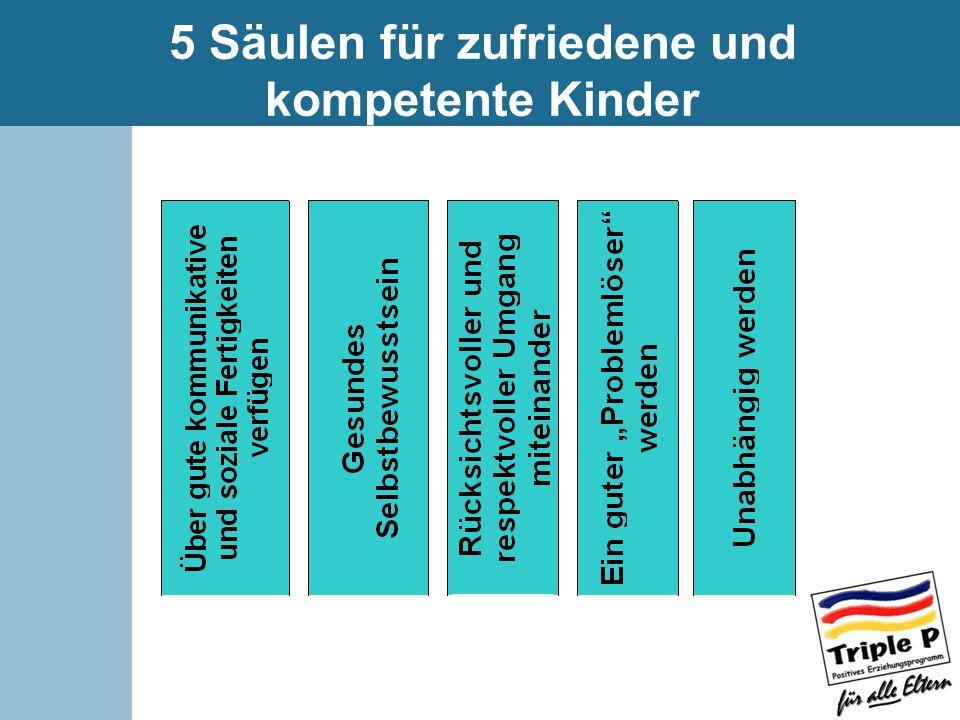 5 Säulen für zufriedene und kompetente Kinder