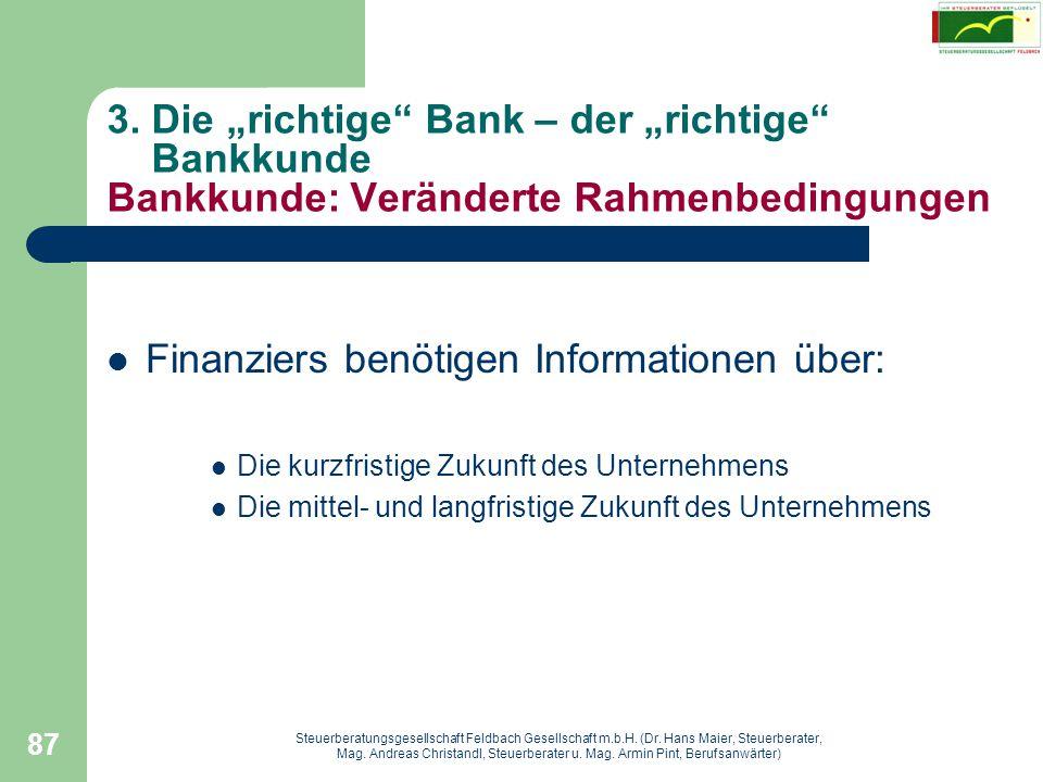 Steuerberatungsgesellschaft Feldbach Gesellschaft m.b.H. (Dr. Hans Maier, Steuerberater, Mag. Andreas Christandl, Steuerberater u. Mag. Armin Pint, Be
